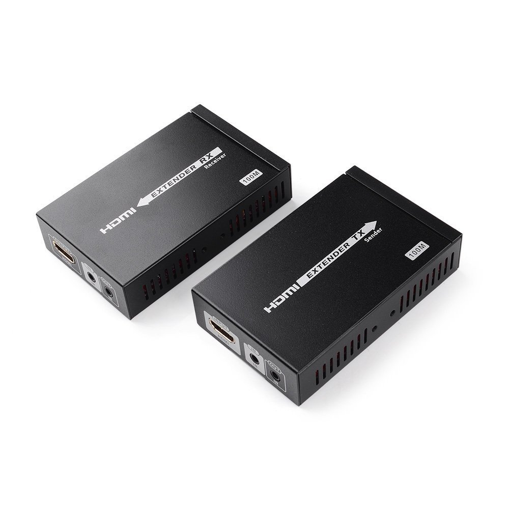 E-SDS UHD 4K HDMI Extender(HDbaseT),HDMI over Cat5E/6/7 Cable ,HDbaseT Extender with Bi-directional IR,HDMI 2.0,HDCP 2.2 by E-sds
