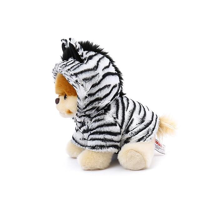 Enesco Gund 4061293 El perro Boo vestido de cebra