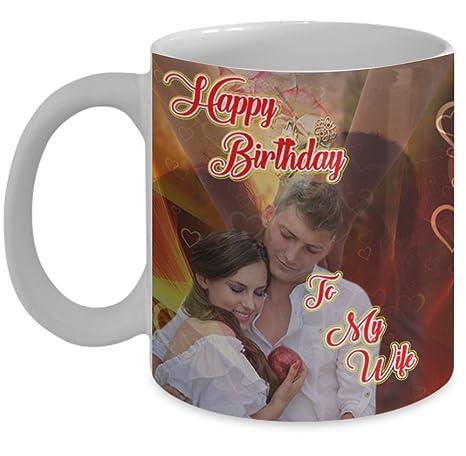 Amazon.com: Relación taza (11 oz) \ feliz cumpleaños a mi ...