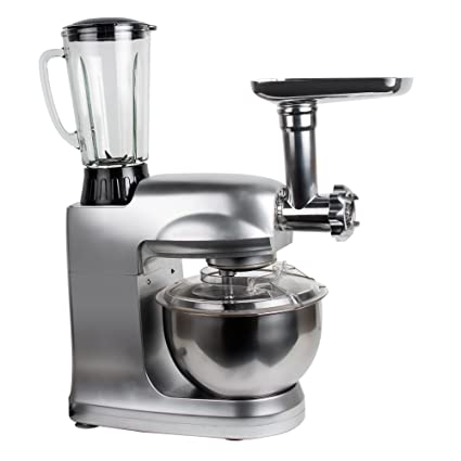 Kneading Machine Kitchen Stand Mixer Food Processor Meat Grinder 1200W 5L Bowl
