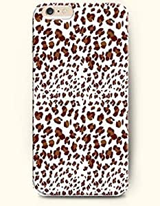Black And Beige Leopard Pattern - Animal Print - Phone Cover for Apple iPhone 6 Plus ( 5.5 inches ) - SevenArc Authentic...