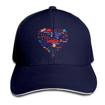 Gorras de béisbol Unisex de Sombrero de algodón de Perfil bajo ...