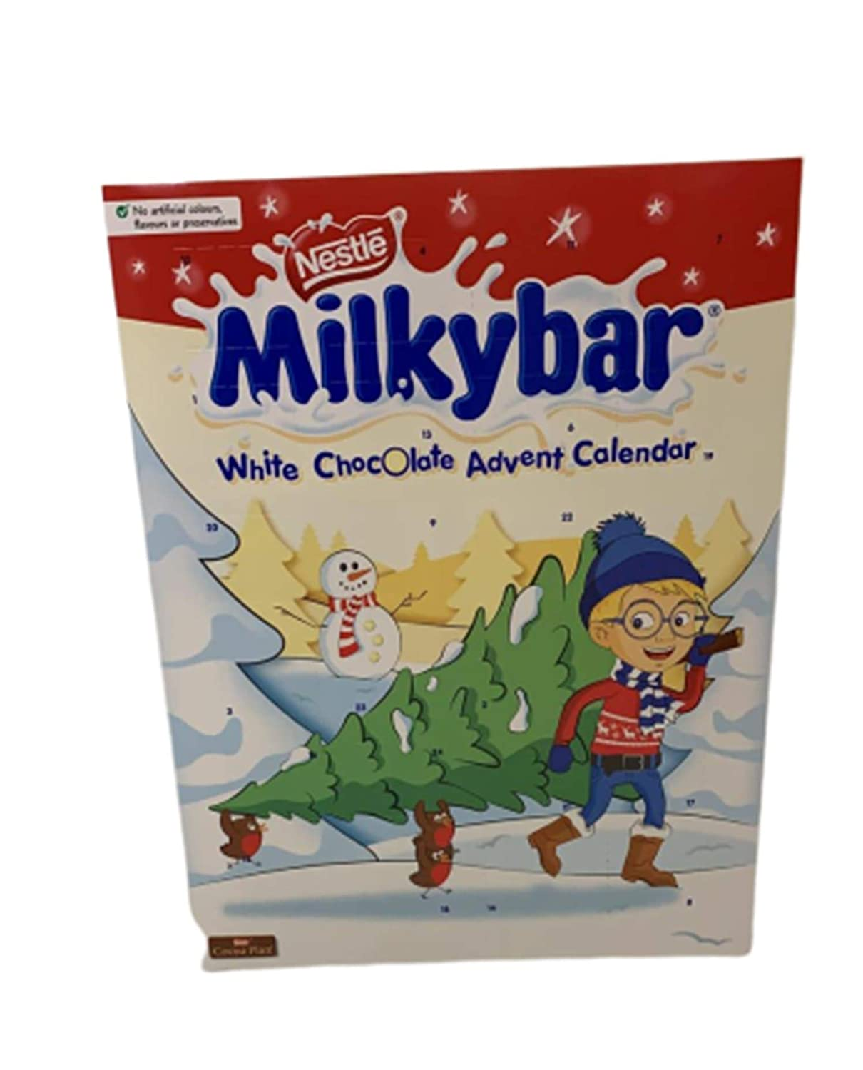 Milkybar White Chocolate Christmas Advent Calendar 85 G