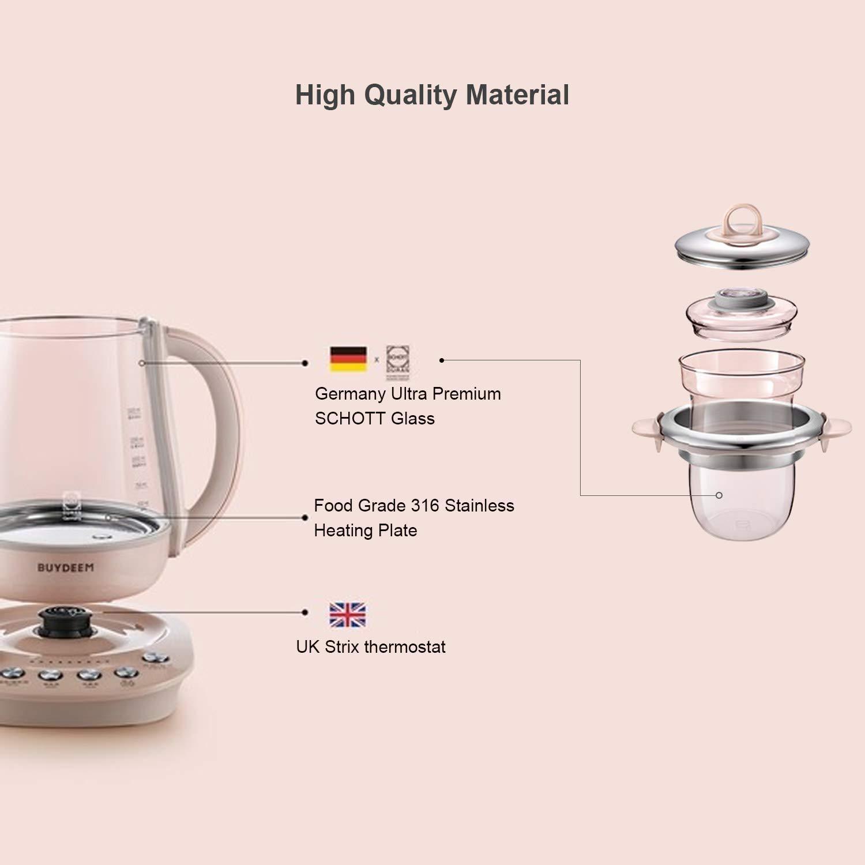 Buydeem K2693 Health-Care Beverage Tea Maker Kettle   9-in-1 Programmable Brew Cooker Master   养生