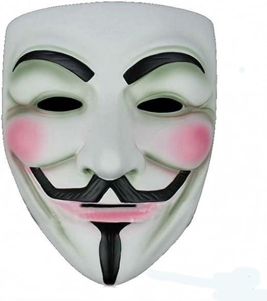 Komonee V para Venganza Adulta Disfraz de Halloween Máscara (Pack ...