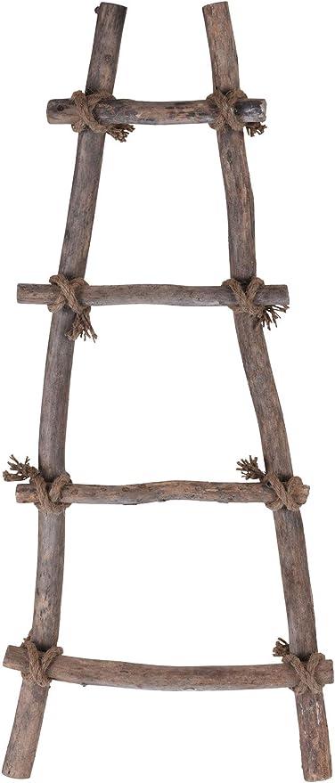 Spetebo - Escalera Decorativa con Cuerda (82 x 34 cm, Madera ...