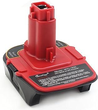Amazon.com: Waitley - Adaptador de batería para convertidor ...