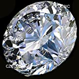 """SUPER QUALITY 4.00 MM TO 10.00 MM EACH 1 PC / SIZE CLEAR SPARKLING ROUND ( RD ) CUT / SHAPE CUBIC ZIRCONIA / WHITE CZ SUPER LOOSE STONES """" 7 STARS """" in U.S SHIPPER / SHIP FROM U.S.A / L..A"""