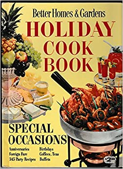 Better homes and gardens holiday cook book meredith press Better homes gardens tv show recipes