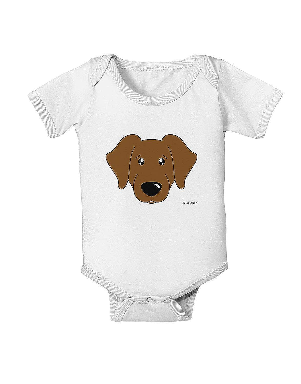 Chocolate Labrador Retriever Dog Novelty Infant Bodysuit One-Piece Jumpsuit