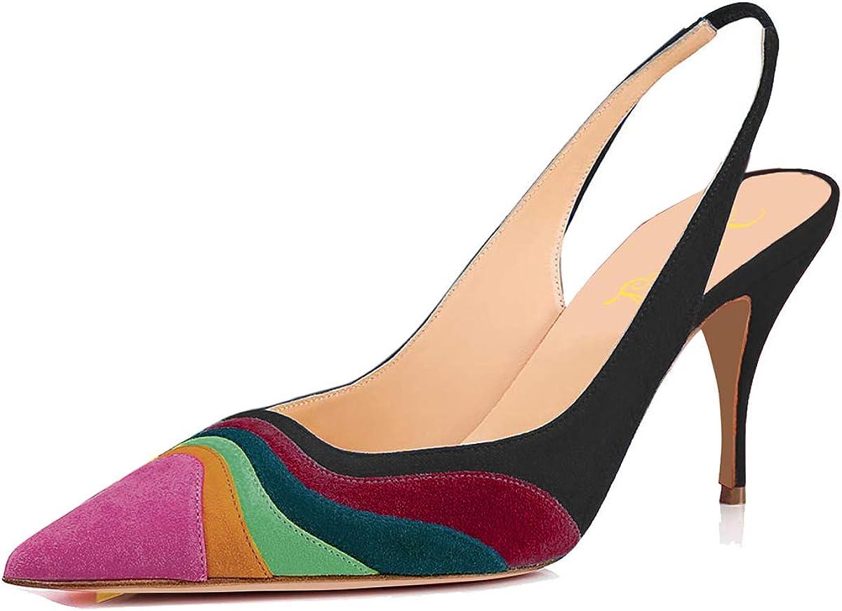 Ladies Kitten Heel Shoes