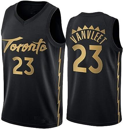 Boruo NBA Hombre Jersey,Raptors n#23 Vanvleet Ropa de Baloncesto ...
