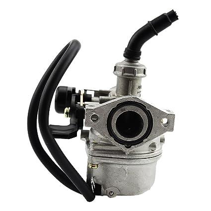 amazon com goofit pz19 carburetor for taotao sunl baja roketa Fuel Gauge Diagram goofit pz19 carburetor for taotao sunl baja roketa kazuma ssr polaris honda xr crf 50cc