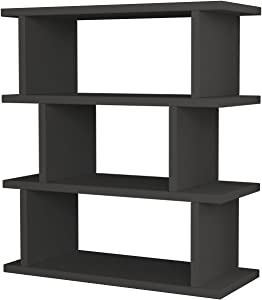 Ada Home Décor Stockton Side Table, 21'' x 24'' x 9'', Anthracite