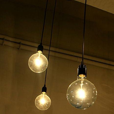 E27 Lámpara Creativa de Edison Lámpara 3 de las Lámparas de DIY Lámpara Industrial del Techo de la Lámpara del Techo de la Lámpara de Las Lámparas ...