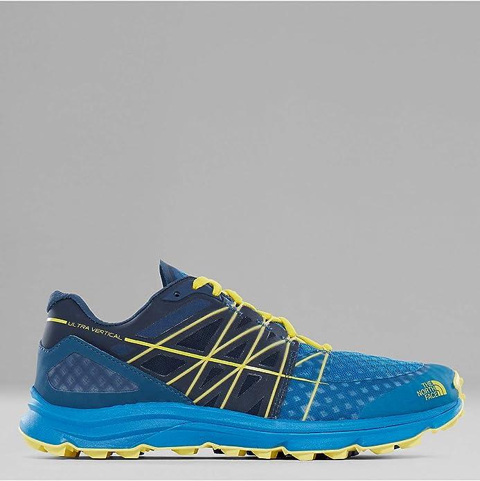 The North Face W Ultra Vertical, Zapatillas de Senderismo para Mujer, Azul (Provncialblu/Nasturtmorng), 39.5 EU: Amazon.es: Zapatos y complementos