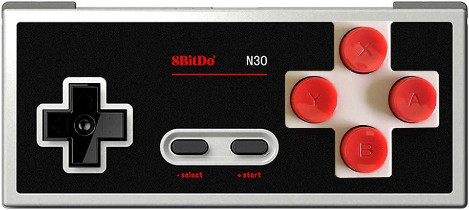 A Wireless controller for the Switch and PC that looks like a classic NES controller.