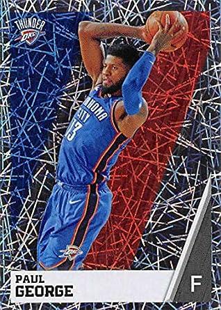f113cd742bee3 Amazon.com: 2018-19 Panini NBA Stickers Collection #325 Paul George ...