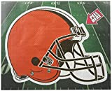 NFL Cleveland Browns Diecut Window Film, One Size, Orange