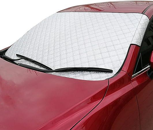 130 x 70 cm Pare-brise pliable Highland Cow Pare-soleil pliable 130 x 70 cm R/éflecteur UV Garde votre v/éhicule au frais Pare-brise de voiture