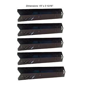 BBQration Gas Grill Porcelain Steel Heat Plate Replacement for Uniflame, Lowes Model Grills