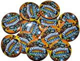 12 Skylanders Giants Birthday Party Favor Buttons