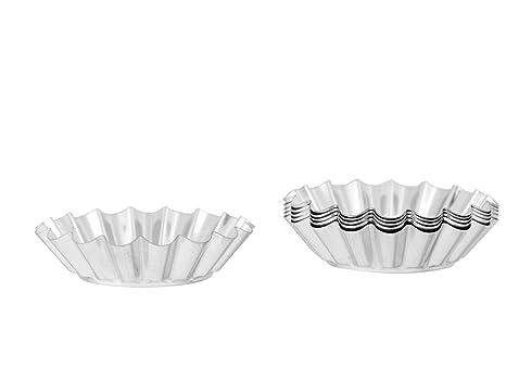 Amazon.com: Eliplast 331/6 Small Cake Moulds, 80 mm, Plastic, Multicoloured: Home & Kitchen