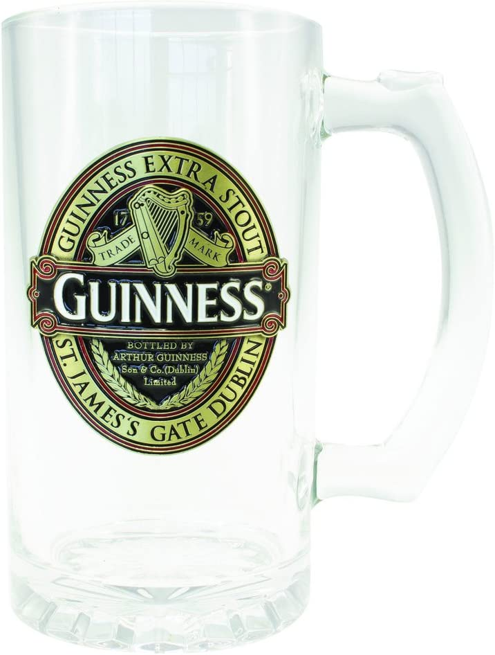 Guinness Classic Red Collection - Jarra de cristal