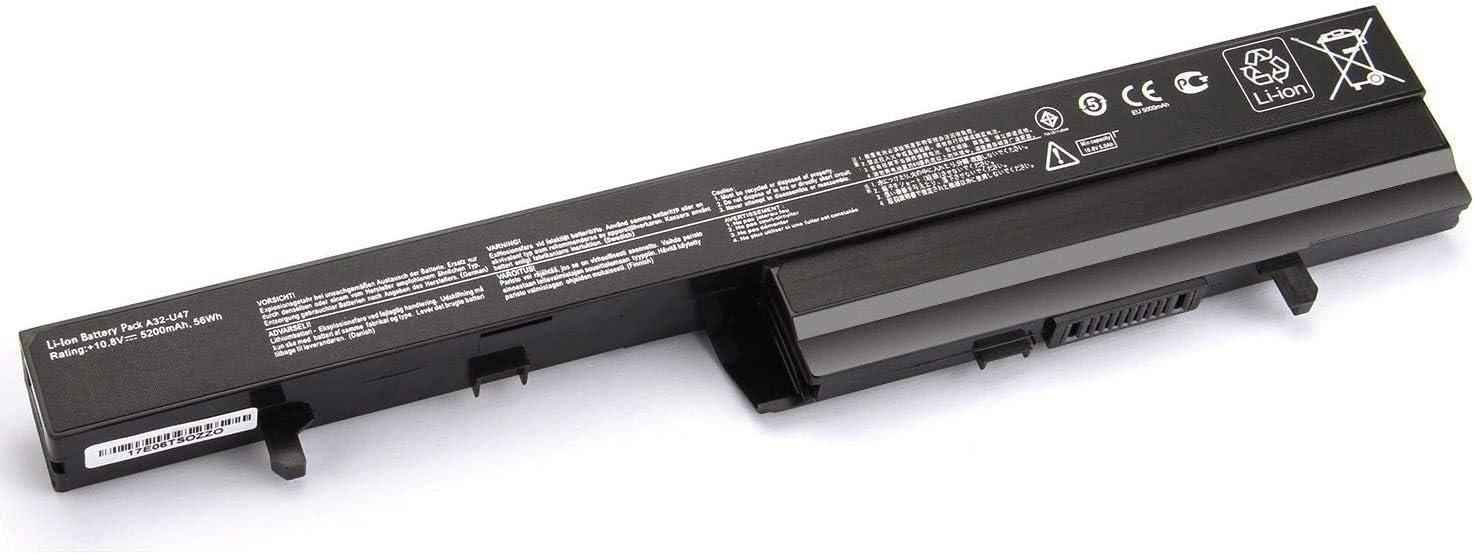 7XINbox 10.8V 5200mAh 56Wh A41-U47 A42-U47 A32-U47 Replacement Laptop Battery for Asus U47 U47A Q400 Q400A Q400C R404 U47C U47V U47VC Series Laptop