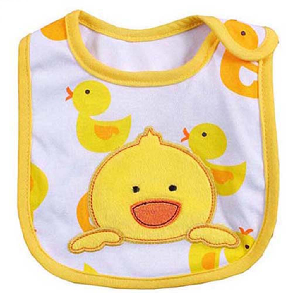 Giraffe Pattern Lovely Cute Cartoon Pattern Toddler Baby Waterproof Saliva Towel Baby Bib