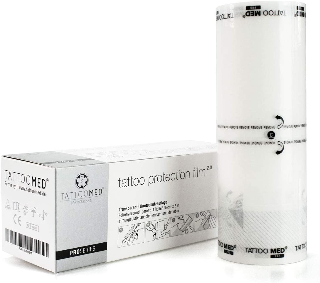 TattooMed Protection Film 2.0 - Film de Protección Transparente y ...