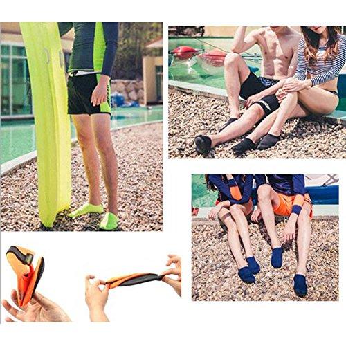 Exercice Durable Non Surf Nus Natation Vow Pour Plage Pieds D'eau Yoga Luna Chaussettes a03 slip qta0O