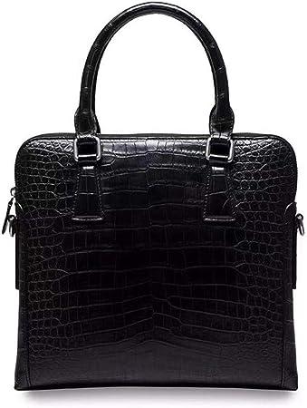 Crocodile Leather Men's Top Handle Bags: Amazon.co.uk: Luggage