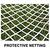 White Fence Net, Stair Railing Safety Net for Children, Outdoor Playground Fence Netting, Truck Cargo Net Cover (Size : 1x6m(3x20ft))