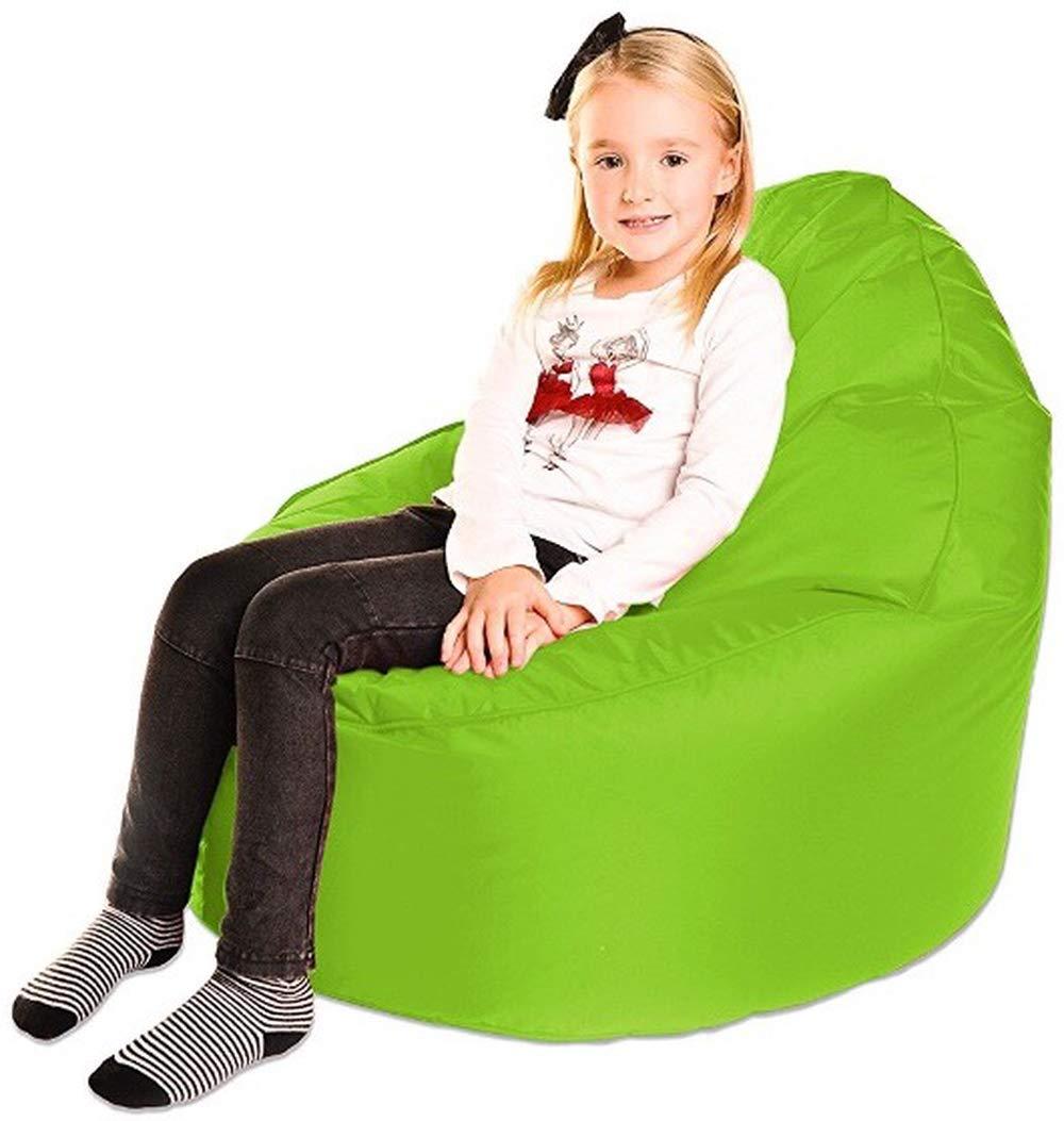 Bean Bag Bazaar Kids Gaming Chair Childrens Indoor Outdoor BeanBag Large 80cm x 70cm Pink, 2