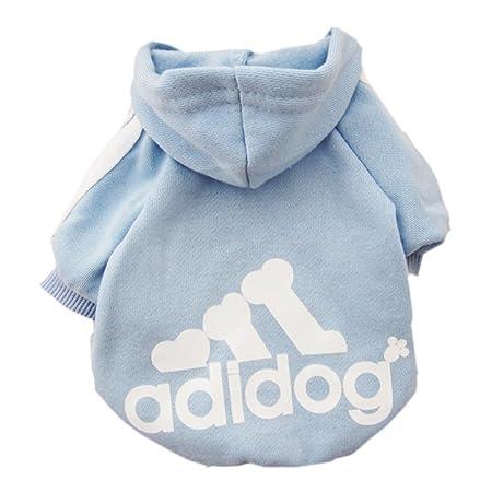 Zehui Sweater / Kapuzenpullover Für Hunde, Aufschrift 'Adidog', XS ...