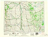 Thief River Falls MN topo map, 1:250000 scale, 1 X 2 Degree, Historical, 1967, updated 1967, 22.3 x 28.8 IN