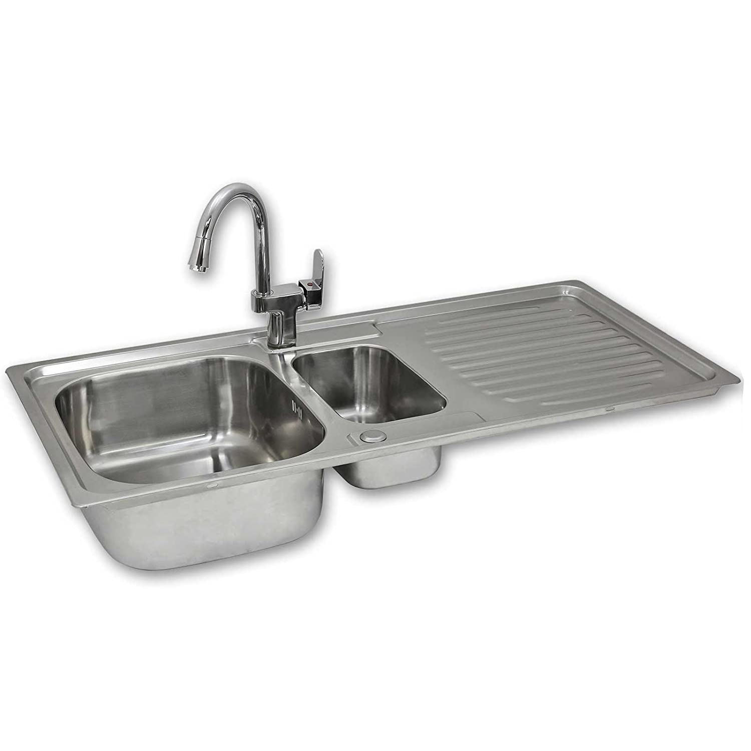 Amazon.com: KuKoo Stainless Steel Kitchen Sink Basin ...