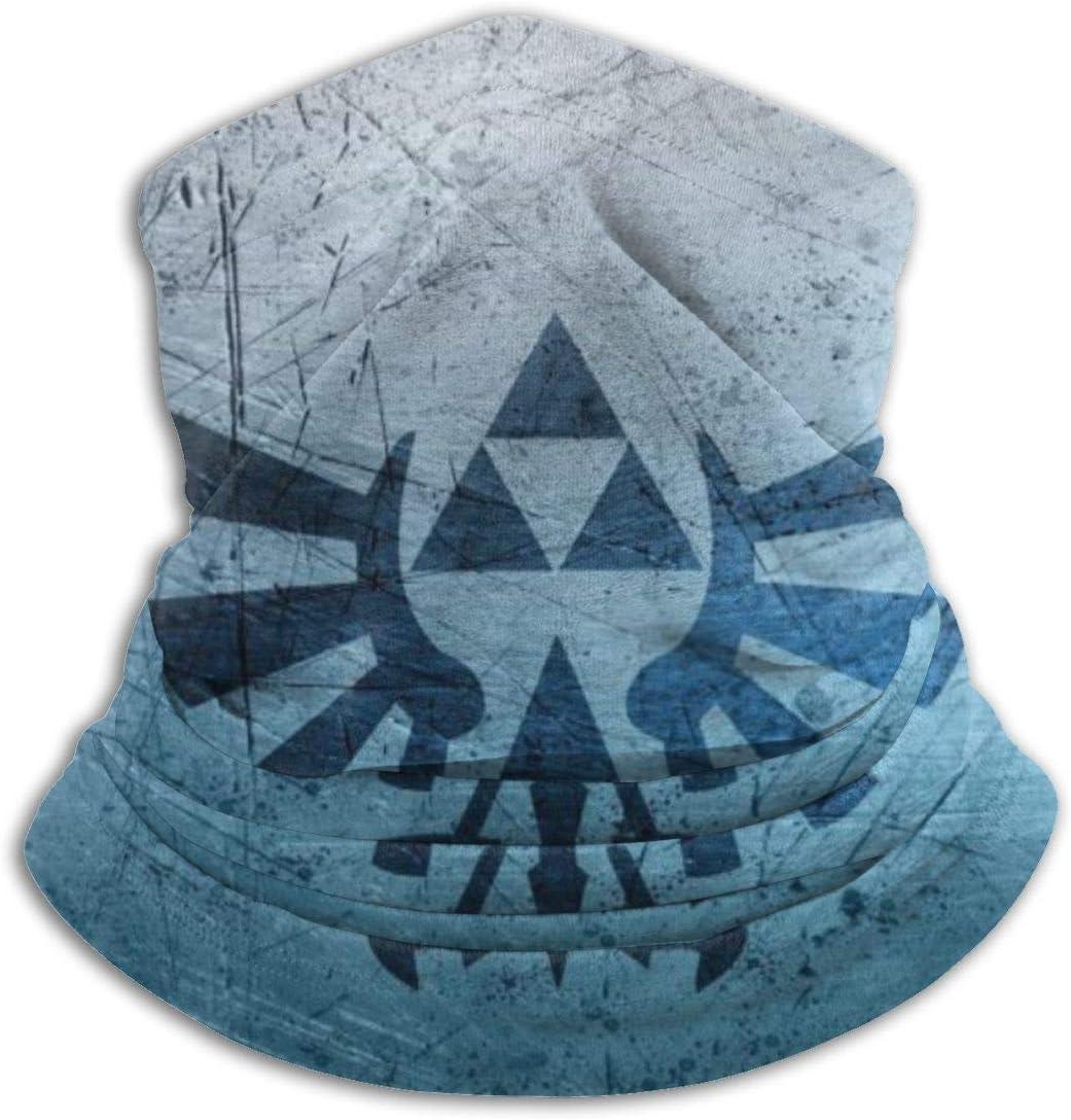 Grtswp Legend of Zelda /Écharpe de Cou Unisexe Souple Coupe-Vent Fantaisie Bandeau pour Sport randonn/ée
