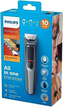 Philips MULTIGROOM Series 3000 MG3747/33 cortadora de pelo y ...