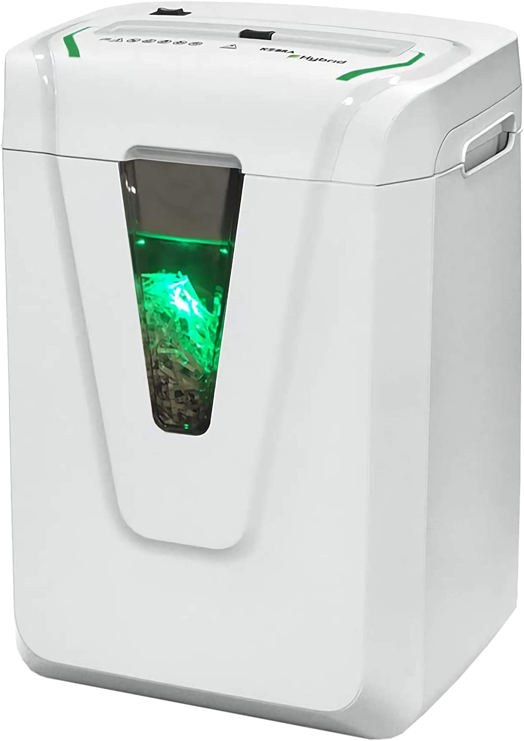 Kobra Hybrid-S Cross-Cut Paper Shredder, 24 Hours Continuous Operation, Exclusive Hybrid Technology, 12-14 Sheet, Made in Italy