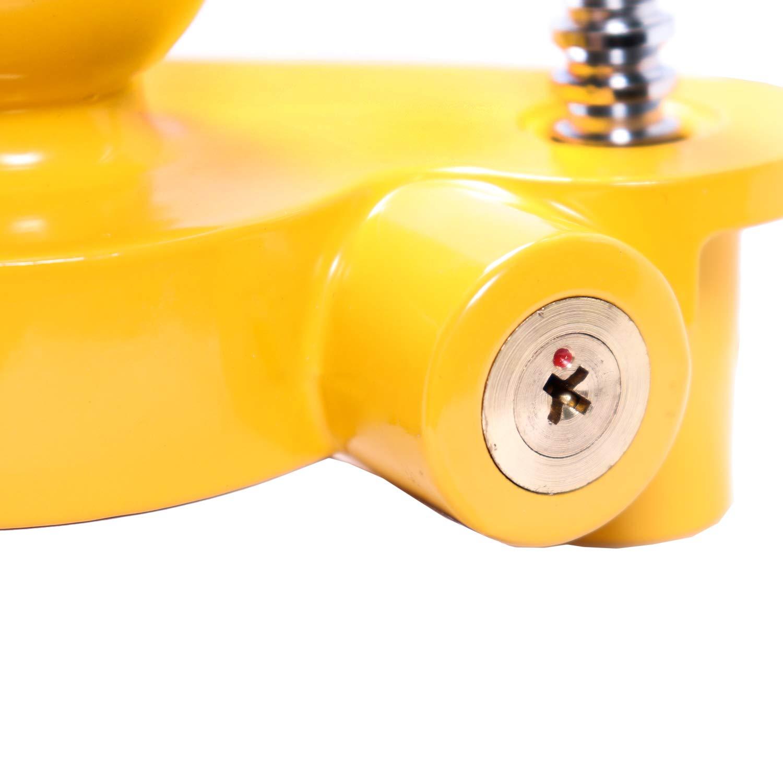 BELKO/® Anh/ängerschloss f/ür g/ängige Anh/ängerkupplung einfache Montage Diebstahlschutz Diebstahl Anh/änger Sicherung