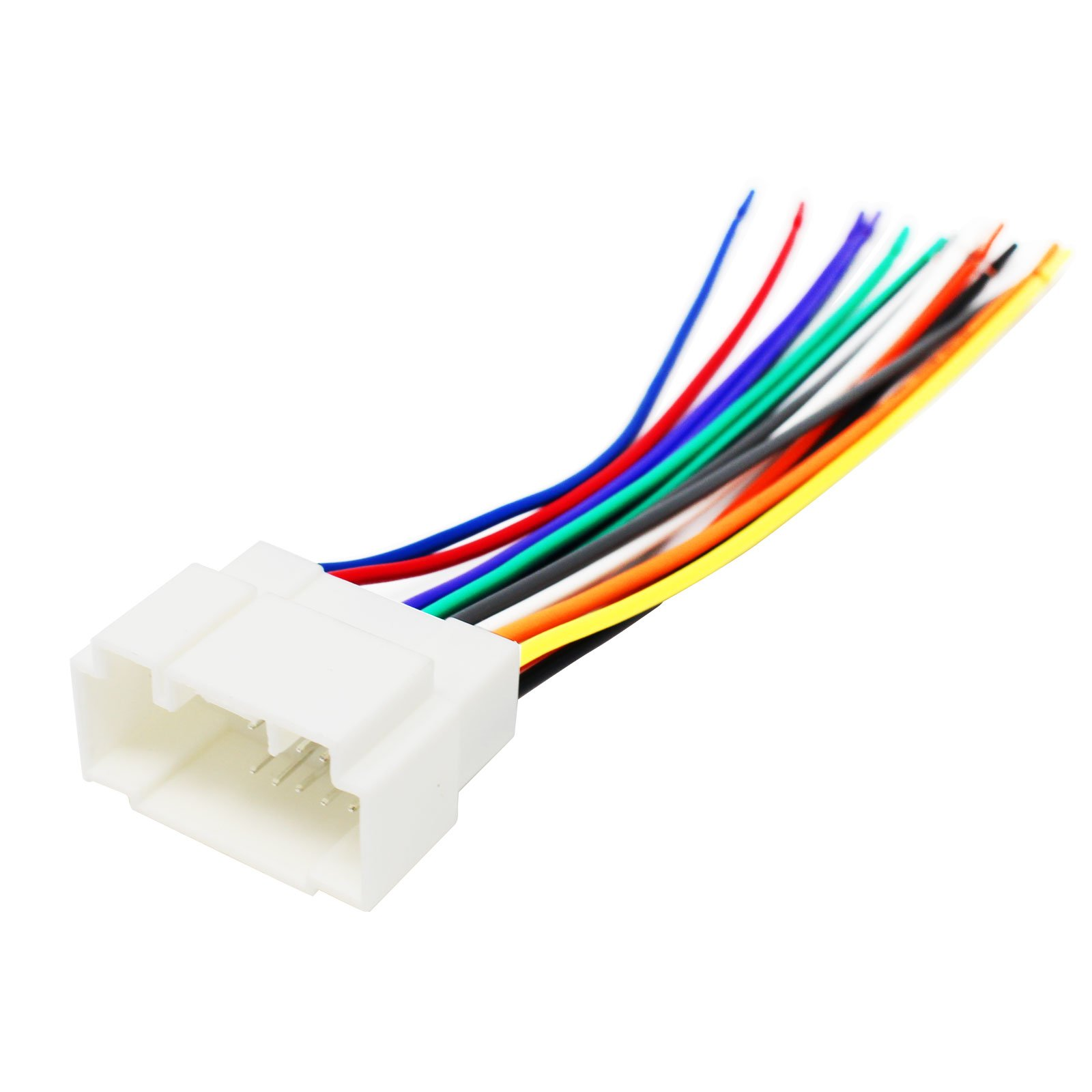 Replacement Radio Wiring Harness for 2006 Honda Accord LX Special Edition Sedan 4-Door 2.4L - Car Stereo Connector