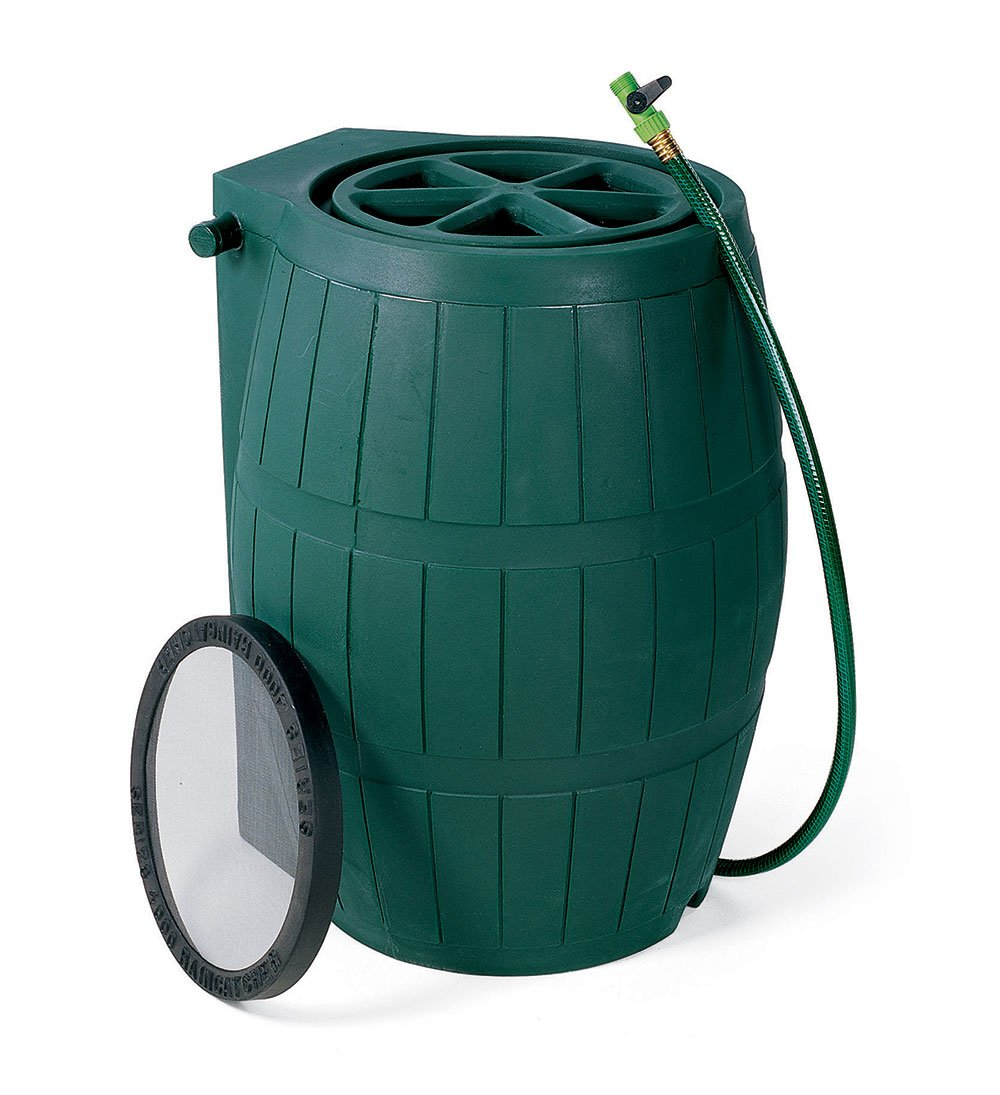 Green Rain Barrel - 54 Gallon by Achla