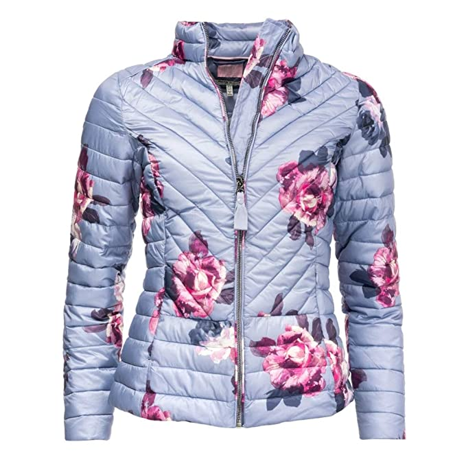98a1e216a Joules Womens Elodie Printed Chevron Quilted Jacket at Amazon ...