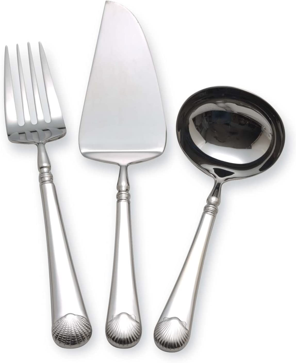 Williamsburg by Reed /& Barton Gloucester Shell 4-Piece Hostess Set