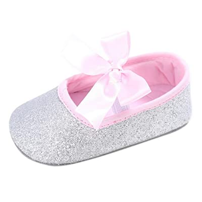 Jamicy , Chaussures premiers pas pour bébé (fille) multicolore blanc