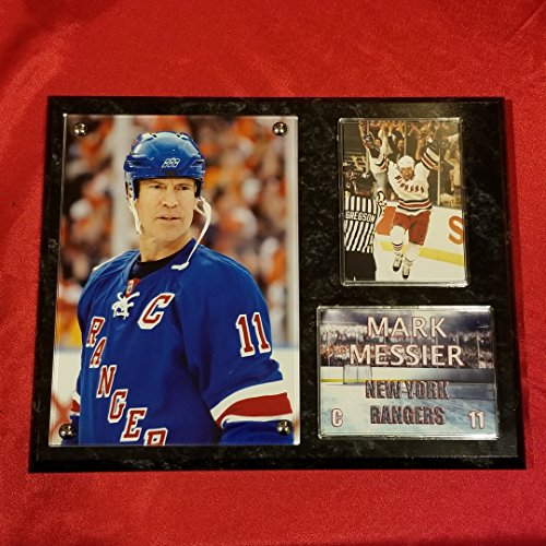 MARK MESSIER NEW YORK RANGERS DELUXE 8x10 COLLECTOR PHOTO (Messier Photo)