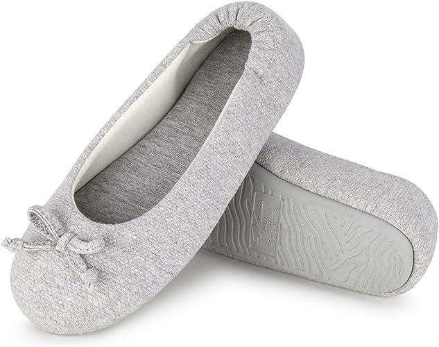 Ladies Isotoner Memory Foam Cushioned Comfort Low Heel Court Shoe Size 3-8