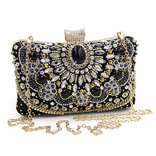 Chain Ladies Day Women Purses Bag Bags Maollmm Clutch Diamond Clutches With Female Beaded na7xtwq1